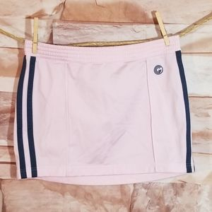 Vintage 90s Guess Pink Athletic Skirt